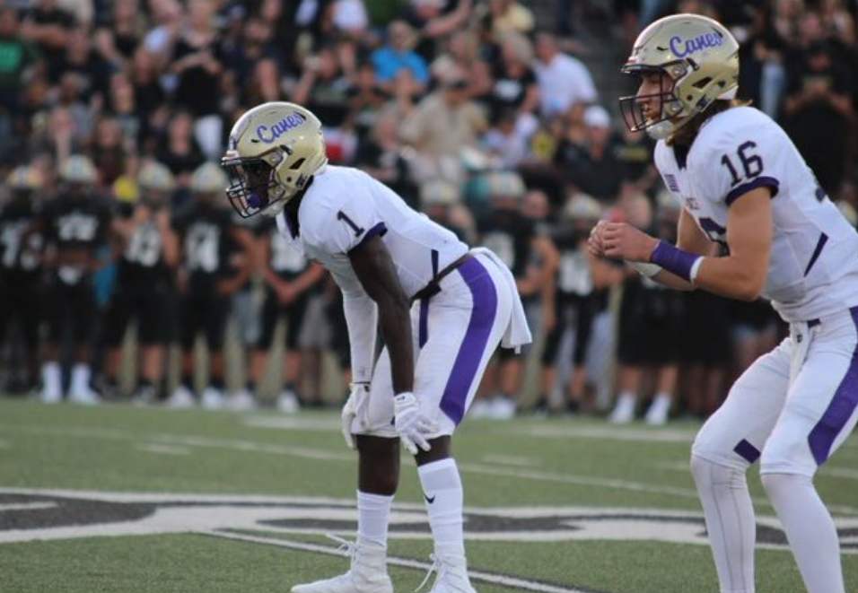 Trey Creamer and Trevor Lowe, Cartersville football