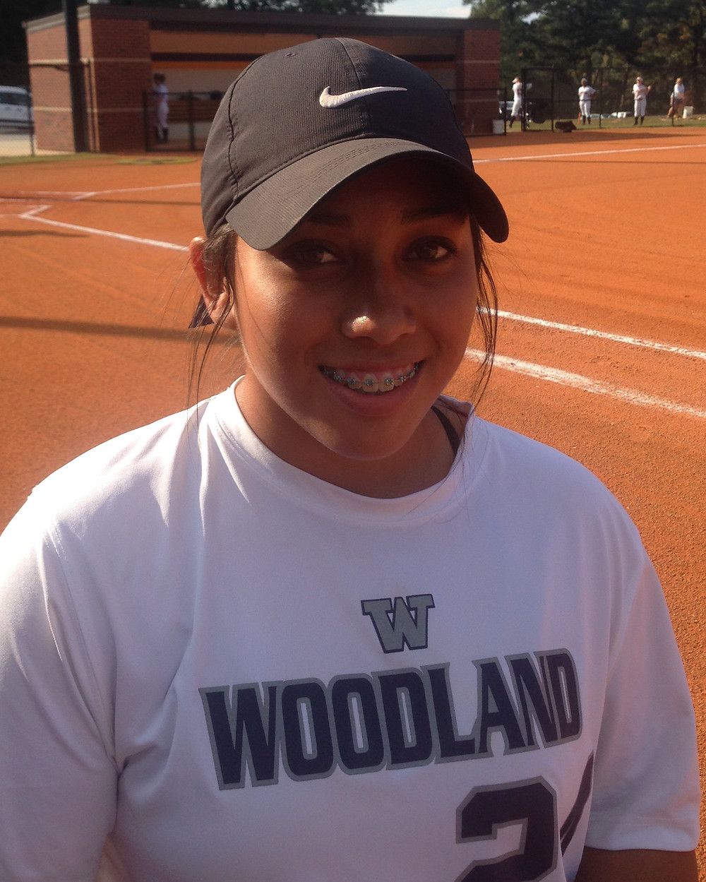 Sarah Baynard, Woodland High School softball