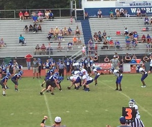 Cass Middle School football at Ashworth MS