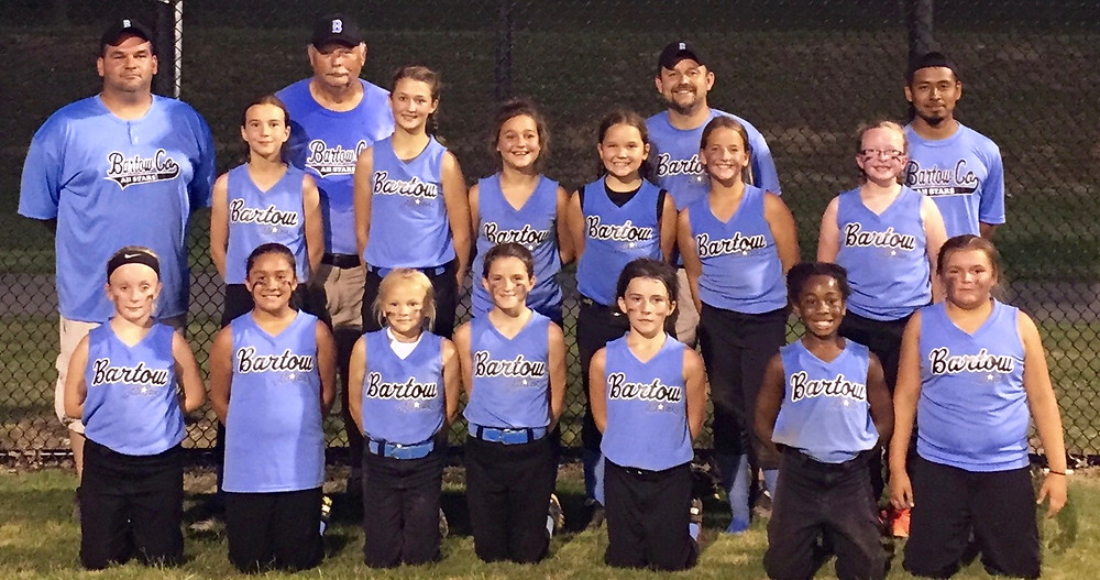 Bartow County 10U softball GRPA District 5 champions