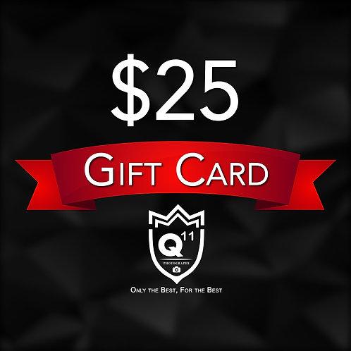 Gift Card: $25