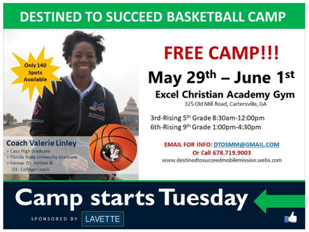 Linley to host free basketball camp May 29-June 1