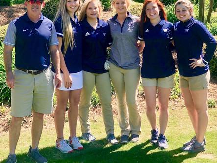 Woodland girls advance to state golf tourney