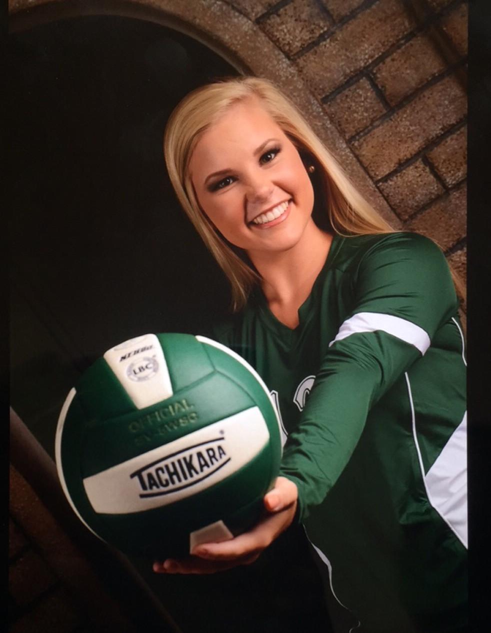 Chloe Powell, Adairsville HS volleyball