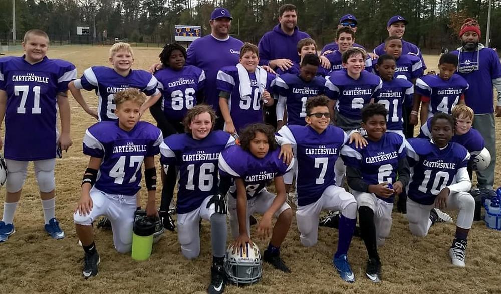 Cartersville 10U football all-stars