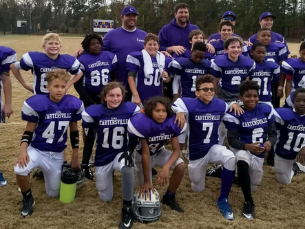 CPRD youth football teams sweep GRPA District 5 titles
