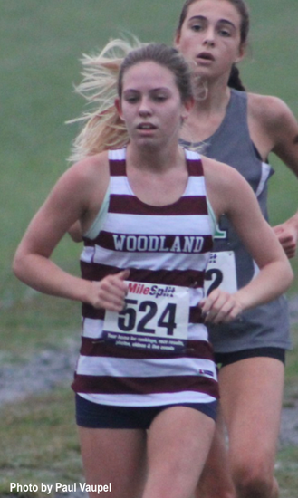 Evans runs to 2nd place finish; Woodland boys 8th, girls 11th at Pickens and Grinnin' Invite