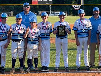 Bartow County 12U Blue wins GRPA District Five championship