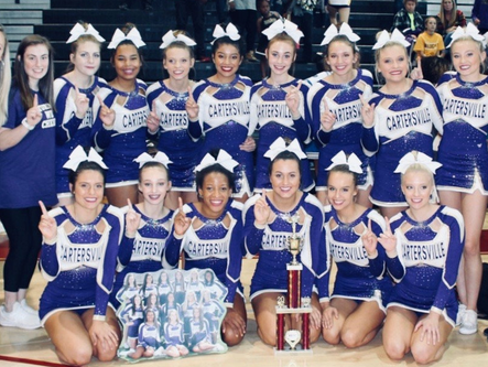 All four local cheer teams advance to state
