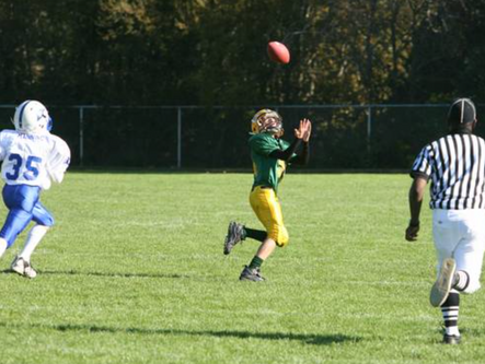 Local recreation youth football capsules for October 23-27