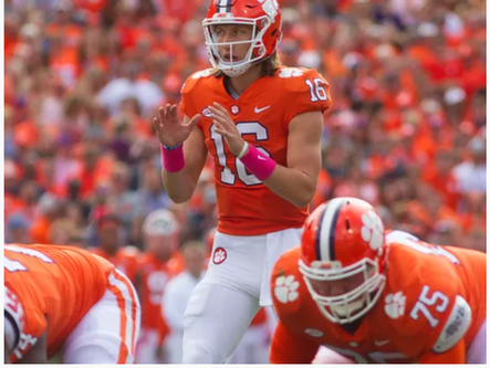 Trevor Lawrence touted as top college QB for 2019 season