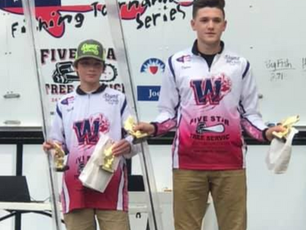 Local high school and middle school anglers compete at Lake Allatoona