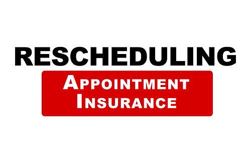 Rescheduling Insurance