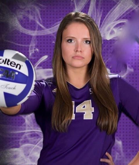 Katie O'Connor Western Carolina University volleyball