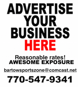 Advertise with Bartow Sports Zone, bartowsportszone@comcast.net for more information