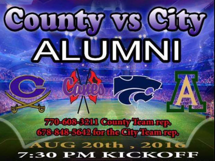 Local alumni football game is scheduled for Saturday, August 20