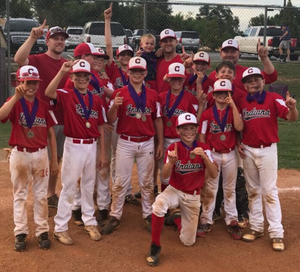 2018 Cartersville Little League Indians