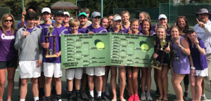 Cartersville HS tennis teams capture region titles