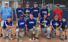 Bartow 14 year old Dizzy Dean baseball team is 2015 state runner-up
