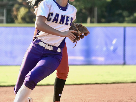 Lady Canes fall in rubber game of region playoff series