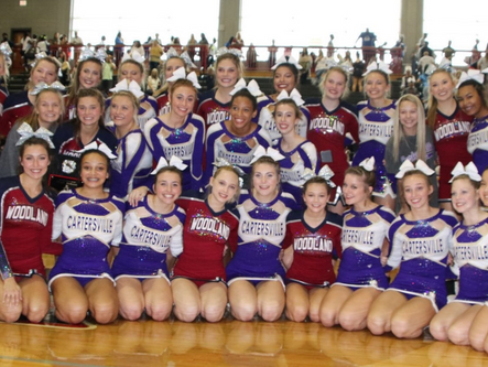 Woodland, Cartersville cheer teams win at Allatoona