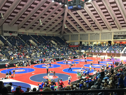 Woodland wrestling remains in strong position heading into third day of State Traditional finals