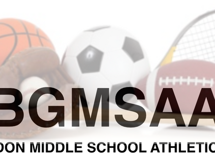 Bartow-Gordon Middle School Athletic Association releases fall sports and activities schedules