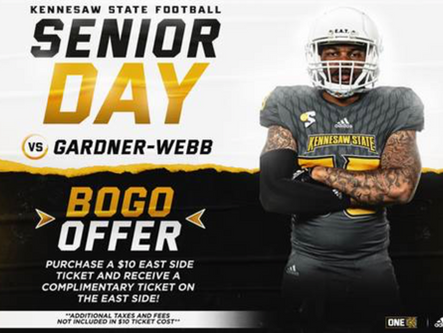 Bartow Sports Zone Day at Kennesaw State Owls Football