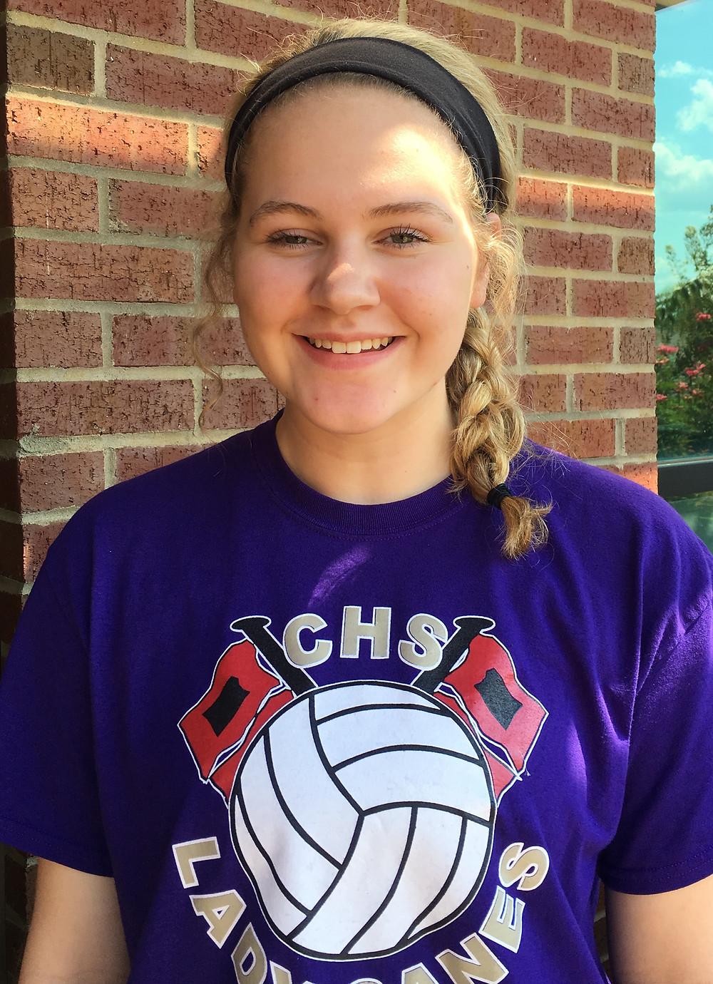 Rebekah Stevens, Cartersville High School volleyball