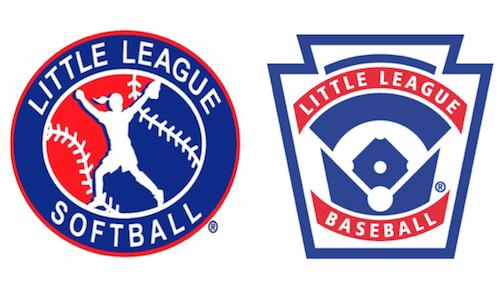 Little League softball and baseball logos