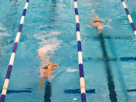 Cartersville swim team defeats Coahulla Creek, Cass
