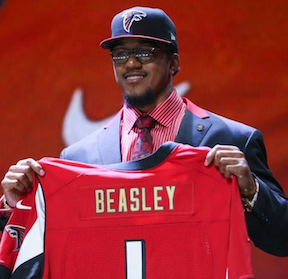 Beasley helps set pace at first mini-camp