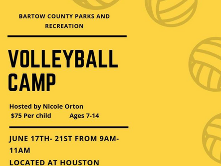 BCRD offers youth volleyball camp