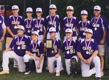 Cartersville Junior League baseball finishes as state runner-up