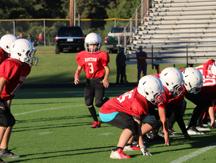 Local recreation youth football capsules for October 15-16