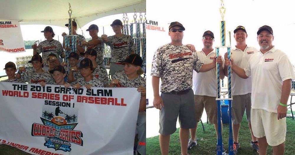 13U North Georgia Snipers win 2016 Grand Slam World Series