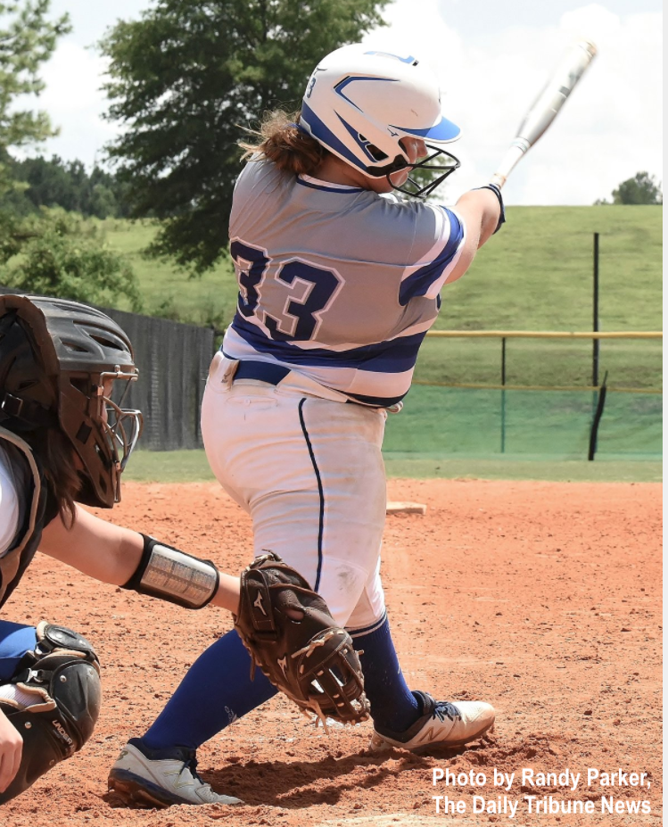 Cass' Kendyl Hardin homered and drove in four runs in Game 2 Wednesday night vs. Cartersville.