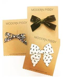 Modern Piggy Bow
