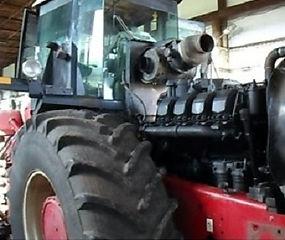 Перееоборудование трактора Buhler