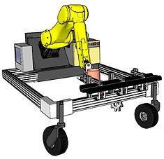 RoboVeg RV1 Harvester CAD