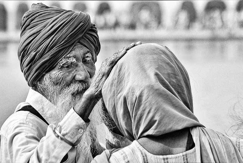 vieux geste beau