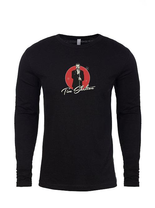 Black Soft Long Sleeve T-Shirt