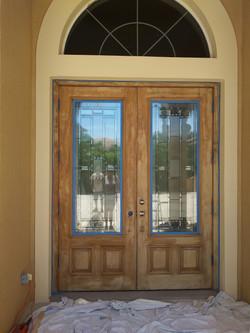 Stain Door Before