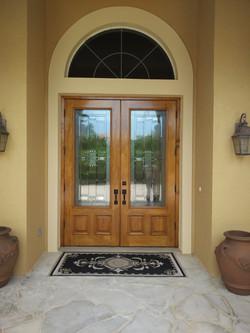Stain Door After
