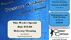 Pressure Washing Special