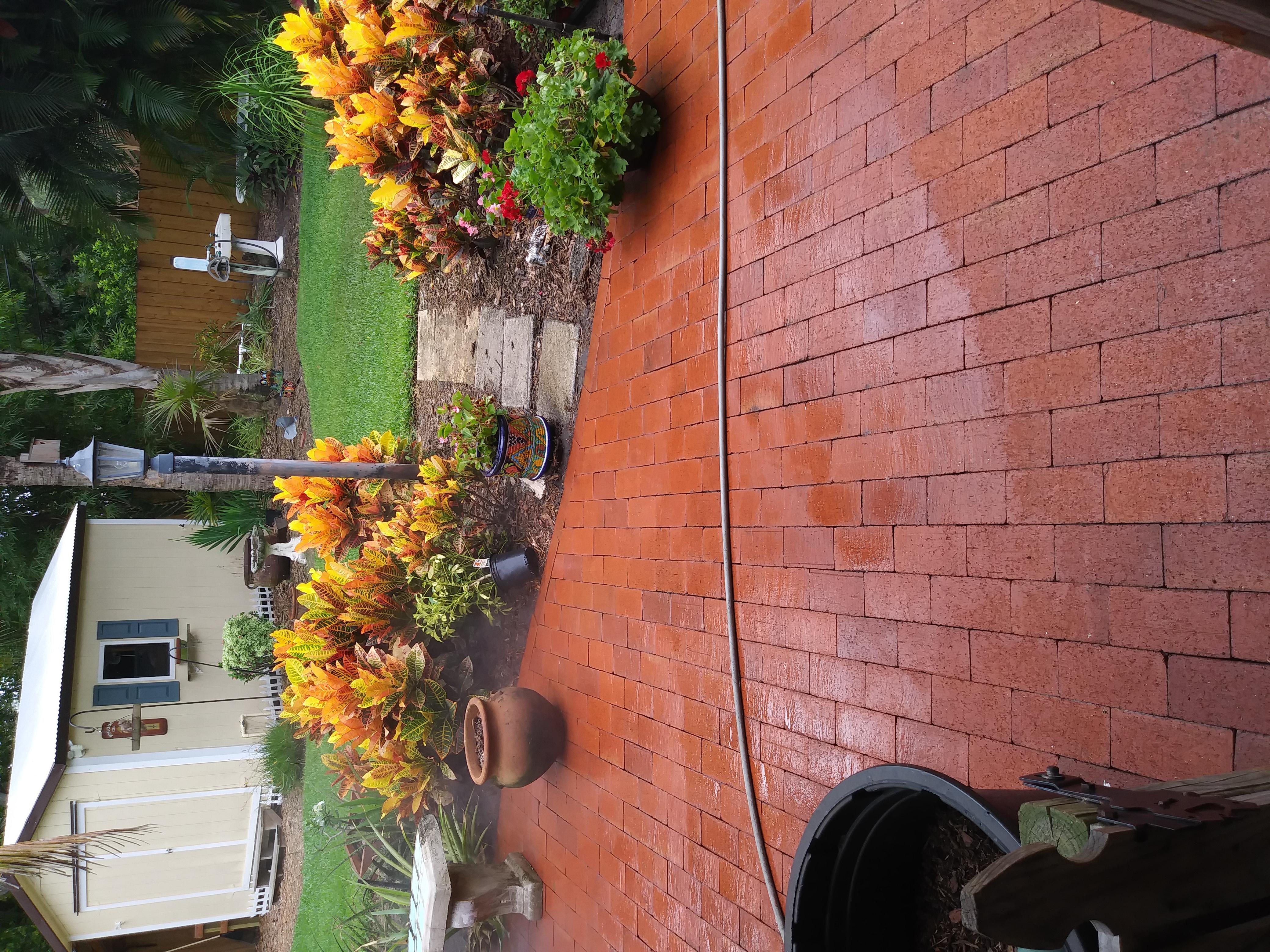 After Brick Paver Pressure Washing