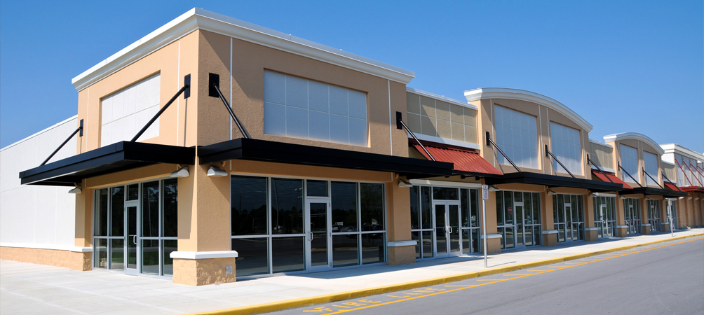 Strip Mall Pressure Cleaning