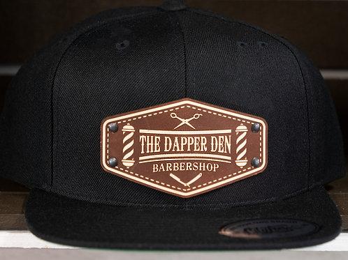 Dapper Den Hat - Leather Patch