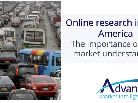 Online research in Latin America