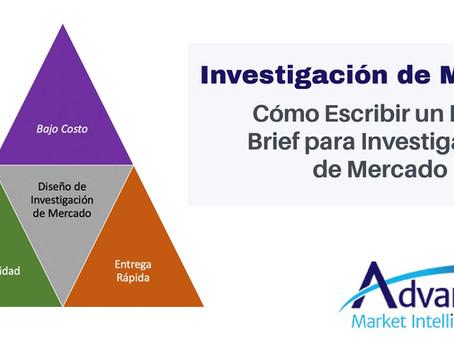 Cómo Escribir un Buen Brief para Investigación de Mercado